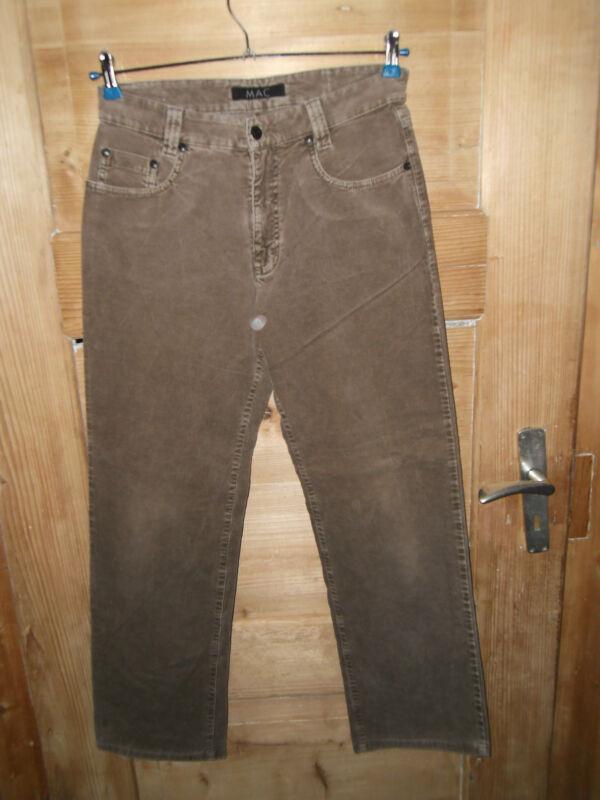 Herren Jeans/hose/cordhose Gr. W31/l32 *** Mac Ray *** Stretch Top Zustand Einen Effekt In Richtung Klare Sicht Erzeugen