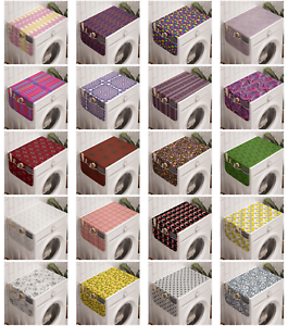 Ambesonne Abstract Motifs Washing Machine Organizer Cover For Washer Dryer Ebay