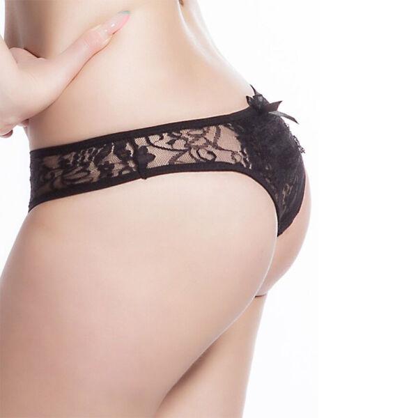 Damen Schlüpfer Bikini Slips Panty Sexy Spitze Tanga G-string Dessous Unterwäsch