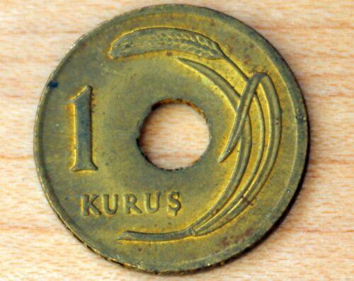 1949 Turkey 1 Kurus
