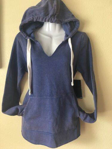 New Hurley Women/'s S M L XL Hoodie High Tides Pullover Violet Purple GFT0003000