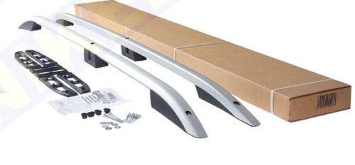 Roof Rails Set FORD TRANSIT CUSTOM SWB Aluminium Roof Bars SILVER 2012-2018