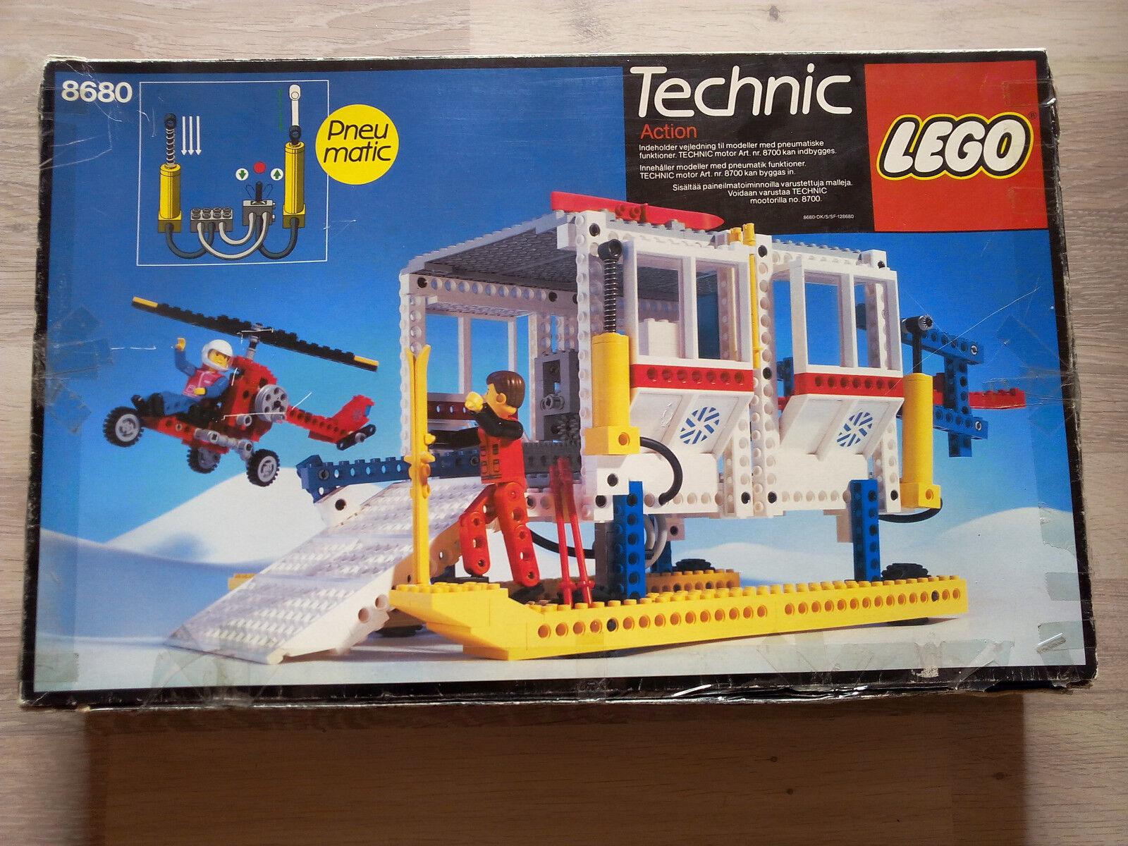 Lego Technic Technik 8680 Artic Rescue Base   GUTER ZUSTAND - Rarität von 1986