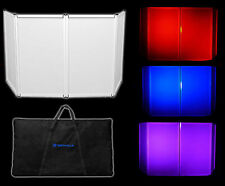 Rockville RFAAW DJ Event Facade Light Weight Metal Frame Booth+Travel Bag+Scrim