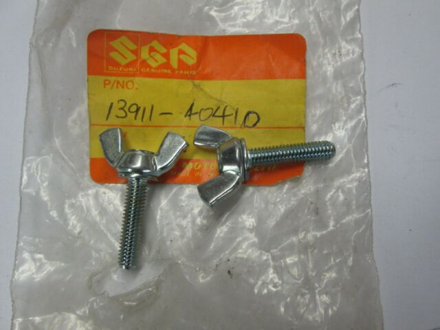 Suzuki PE250 PE400 RM250 RM400 nos air cleaner bolt   13991-40410