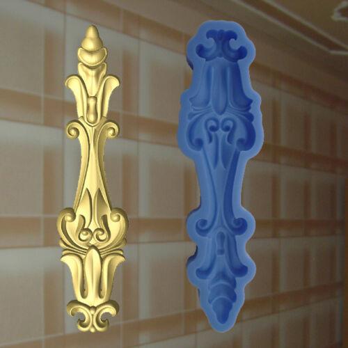 Dekor Stuck Verzierung Silikonform Ornament Relief Deckenverzierung Molds 183