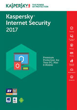 Kaspersky Internet Security 2017 3PC / 1Year / Antivirus / Download