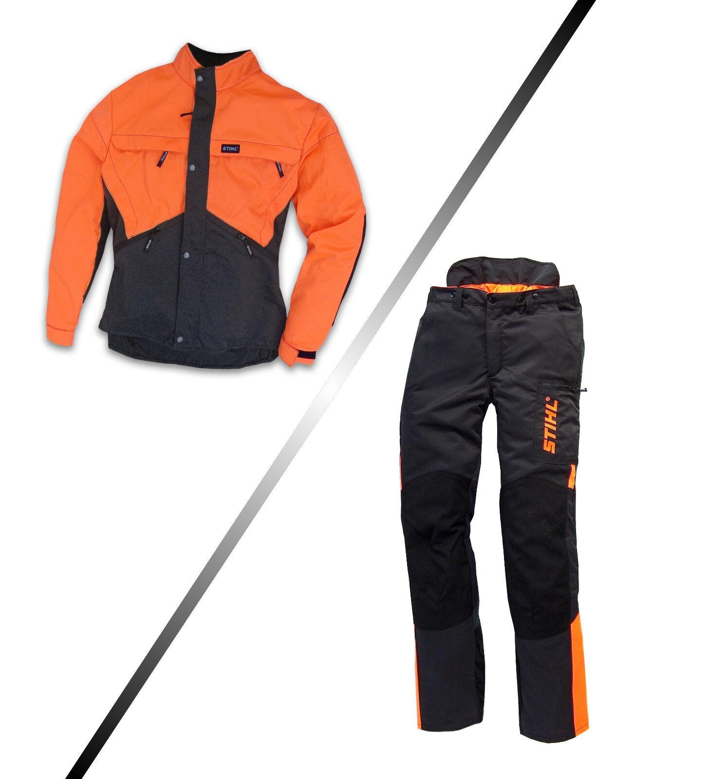 STIHL Dynamic Bundhose & Jacke Schnittschutzhose Forsthose Größe 46 bis 60