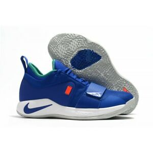 the latest 82d53 7fd22 Details about NEW MENS NIKE PG 2.5 PAUL GEORGE FORTNITE CLIPPERS BQ8452-401  RACER BLUE SZ 12.5
