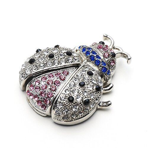 Pretty Jewelry Ladybug USB 2.0 8GB-64GB flash drive memory stick pendrive