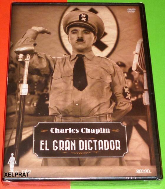 EL GRAN DICTADOR / THE GREAT DICTATOR -DVD R2- English Español - Precintada