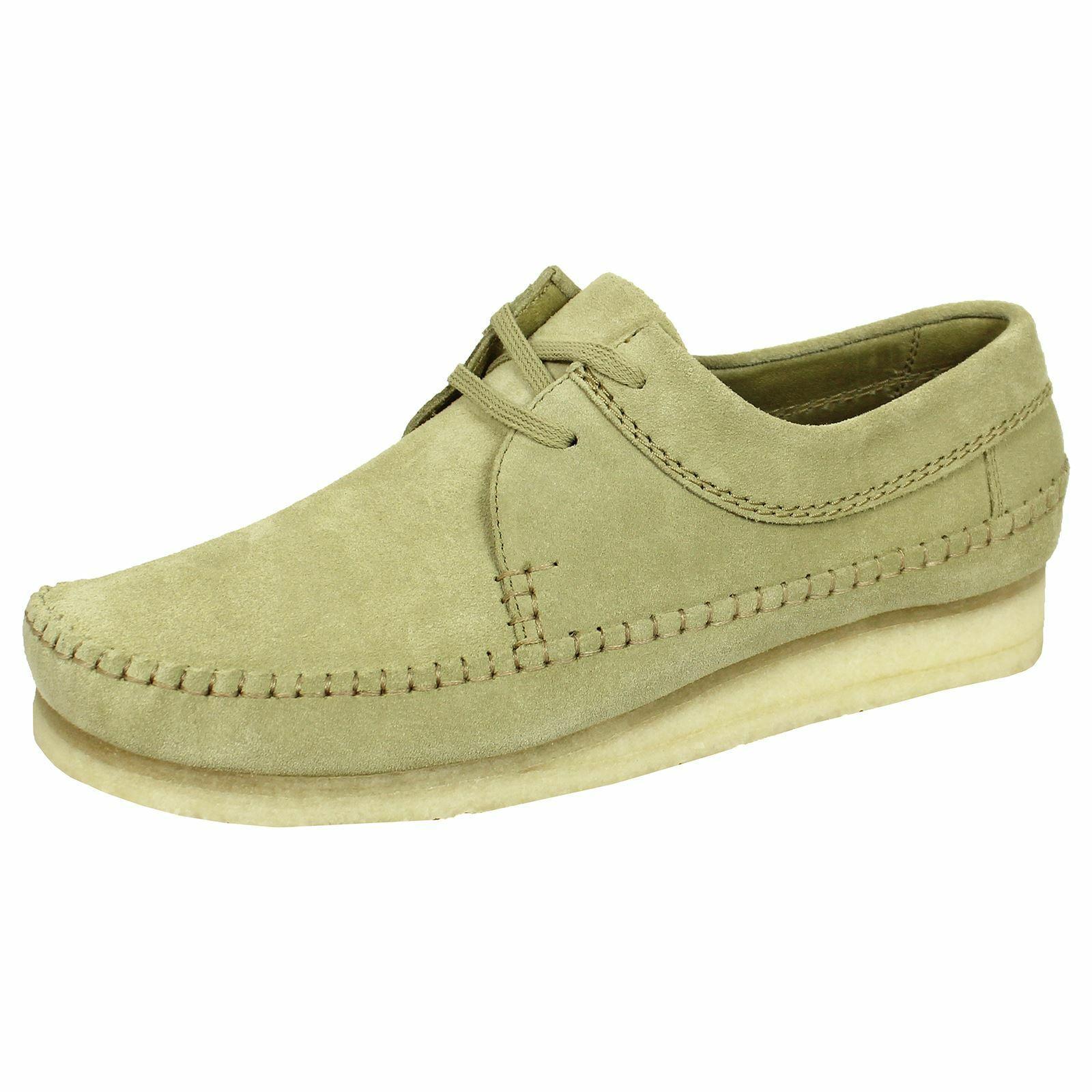 CLARKS ORIGINALS WEAVER Homme Érable Chaussures en daim