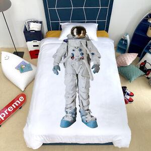 Astronaut-White-Duvet-Cover-Set-For-Comforter-Twin-Size-Bedding-Set-Pillowcase