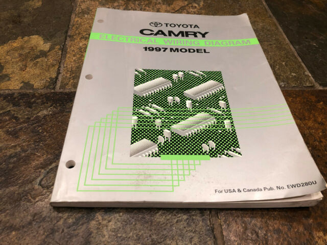 1997 Toyota Camry Wiring Diagrams Electrical Service Manual