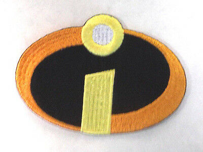 "Incredibles Logo  3""  Embroidered Patch- Mailed from USA (INPA-01)"