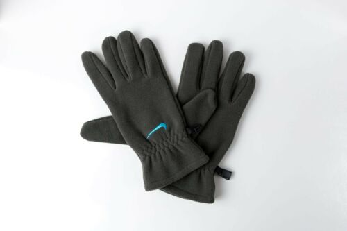 Nike Fleece Gloves Newsprint//Gamma Blue Unisex Large