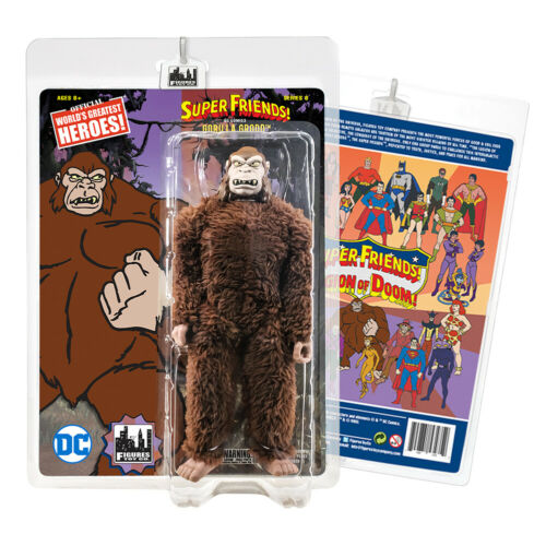 Gorilla Grodd Super Friends style rétro Action Figures Series 1