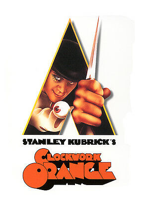 003 Vintage Movie Poster A Clockwork Orange