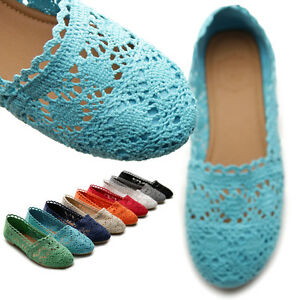 ollio-Womens-Ballet-Loafers-Floral-Lace-Slip-on-Shoes-Flats