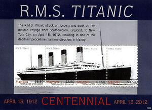 Original Mayreau Gren St Vincent 2012 Neuf Sans Charnière Titanic Centennial 4 V M/s Navires Bateaux Stam-afficher Le Titre D'origine AgréAble En ArrièRe-GoûT