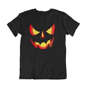 Halloween Party T-shirt Evil Potiron drôle homme Organic costume femme Spooky