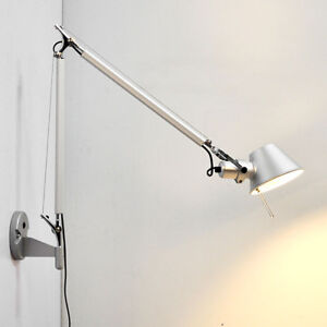 Details About Modern Adjule Wall Sconce Swing Arm Empire Shade Light Lamp