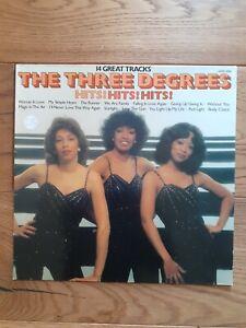 The-Three-Degrees-Hits-Hits-Hits-SHM-3086-Vinyl-LP-Compilation