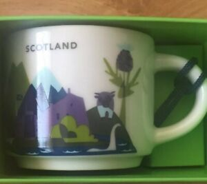 Starbucks Christmas Ornaments 2019.Details About Starbucks You Are Here Scotland Christmas Ornament 2019 Espresso Cup