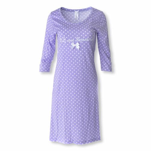 Louis /& Louisa Chemise de nuit mignon et adorable 3//4 Bras Sleepshirt S M L XL XXL