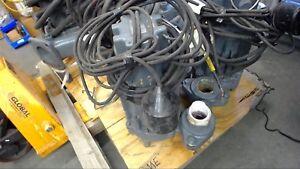 Details about ZOELLER J293-C 1 HP SUBMERSIBLE PUMP 200 VOLTS, 8 2 AMPS, 3  PHASE