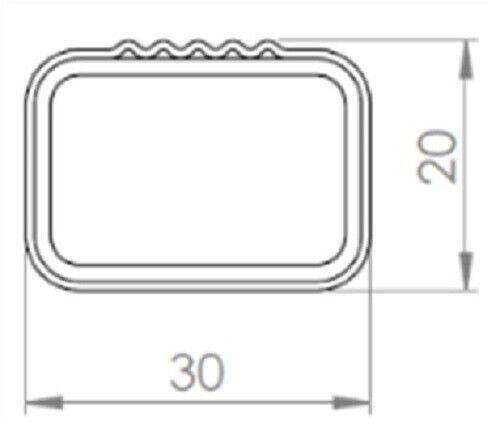 Caja vdpba 320 L Stahl portaequipajes original Opel Corsa D 3-5 puertas 06-15