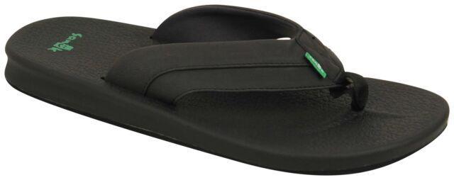 SANUK Men's Sandals BRUMEISTER - BLK - Size 10 - NWT