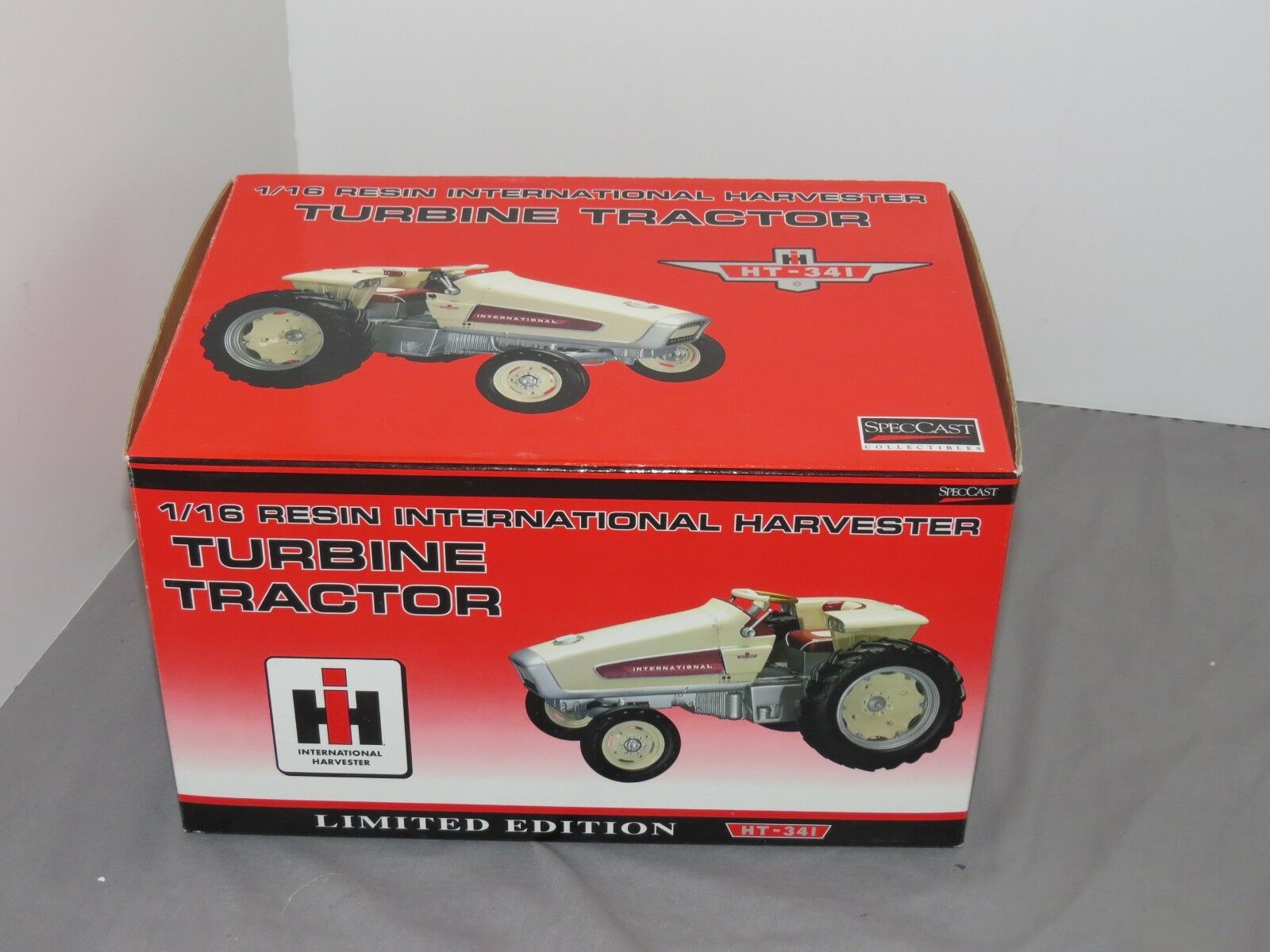1/16 International Harvester edición limitada de tractor de turbina. Nueva en Caja Spec Cast