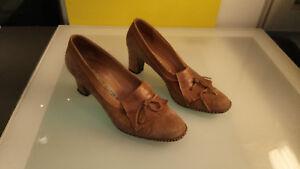 mano 39 Tamaño mujer Nosotros Zapatos 8 Tacones a Hecho Ferrario Aprox Cond Italia Buena para Natale A6qx0wn8T