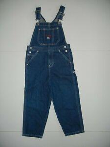 Vintage 90s Tommy Hilfiger Jeans Azul Algodon Pantalones De Mezclilla Peto Nino Talla Juventud 5 Ebay