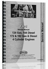 Ford 134 144 172 192 Engine Service Repair Manual