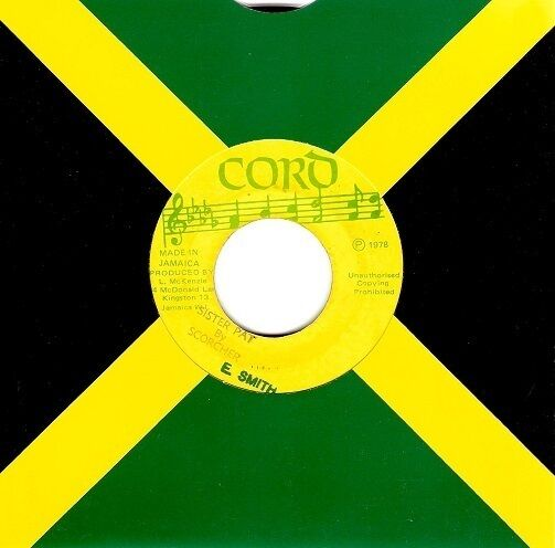 ERROL SCORCHER Sister Pat Vinyl Record 7 Inch Jamaican Cord 1978