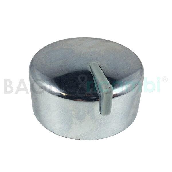 Bouton ouverture eau pour bagnoires Albatros chrome neuf type de 4R2355789