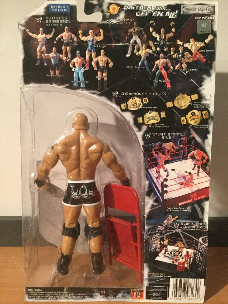 MOC WWE Ruthless Aggression Aggression Aggression Series 6 oroberg azione cifra 2003 Jakks Pacific 1a1192