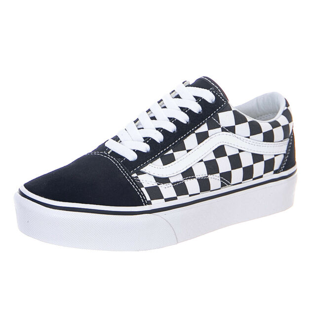 Checkerboard Old Skool Platform VANS Uk6 Never Worn/ Boxed