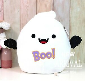 """Squishmallow 16"""" Inch Large Grace the Ghost Bat NEW Halloween 2021 HTF RARE LTED"""