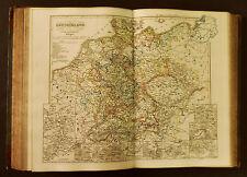 1854c,SPRUNER ATLAS:GERMANIA-DEUTSCHLAND.TAV.IX...30 Jaehrigen KRIEGES.ETNA