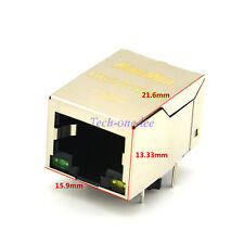 10X HanRun RJ45 HR911105A NETWORK LAN Discrete Transformer Modules FOR REPAIR