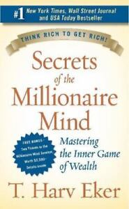 Secrets-of-the-Millionaire-Mind-by-T-Harv-Eker-FREE-SHIPPING-The-Hardcover-book