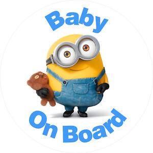 Baby-On-Board-Vinyl-Sticker-baby-sign-for-car-van-Waterproof-UV-resistant