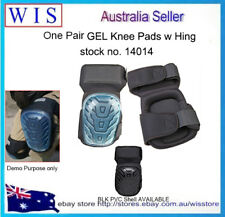 2 x Pair Knee Pads Sterling Non Marking Soft Comfort Twin Strap Elastic Strap