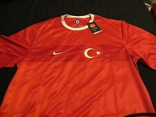 100% Authentic Nike Turkey Mens Soccer Jersey XXL NEW WITH TAGS