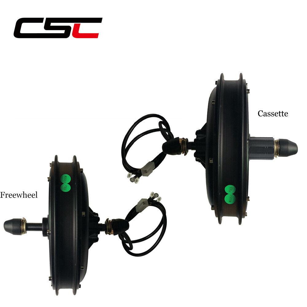 48V cubo engranaje no sin escobillas Motor Motor 1000W 1500W para el Kit de Bicicleta Eléctrica