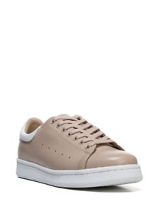 NEW NIB Franco Sarto Women's L Santana Rose SY Sneakers Sz 9.5 M  Tan/White