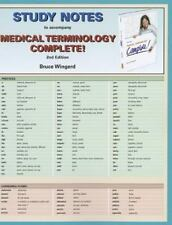 Study Notes for Medical Terminology: Complete!